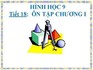 HNH HC 9 Tit 18 N TP CHNG
