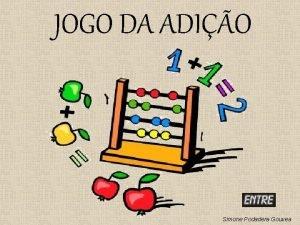 JOGO DA ADIO Simone Podadera Gouvea 8 6