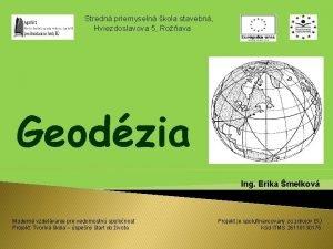 Stredn priemyseln kola stavebn Hviezdoslavova 5 Roava Geodzia