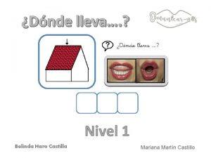 Dnde lleva Nivel 1 Mariana Martn Castillo Fotografas