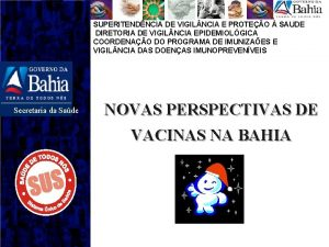 SUPERITENDNCIA DE VIGIL NCIA E PROTEO SAUDE DIRETORIA
