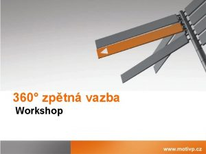 360 zptn vazba Workshop Co si ekneme Co