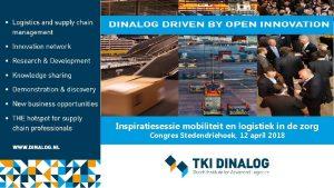 Inspiratiesessie mobiliteit en logistiek in de zorg Congres
