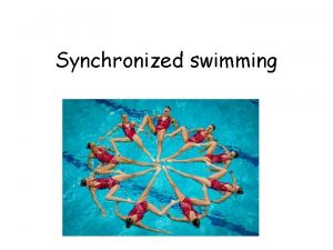 Synchronized swimming Index What is synchronixed swimming History