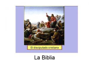La Biblia La Biblia es Lo que Dios