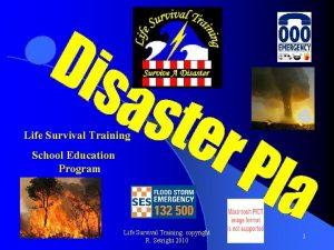 Life Survival Training School Education Program Life Survival