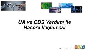 UA ve CBS Yardm ile Haere lalamas Corafi