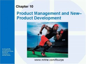 Chapter 10 Product Management and New Product Development