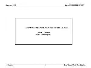 January 1999 doc IEEE 802 11 98409 A