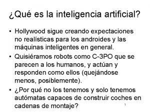 Qu es la inteligencia artificial Hollywood sigue creando