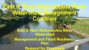 East West Nishnabotna River Watershed Management Coalition East