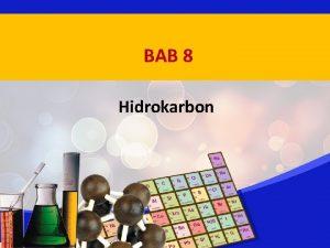 BAB 8 Hidrokarbon Perkembangan Kimia Karbon Senyawa karbon