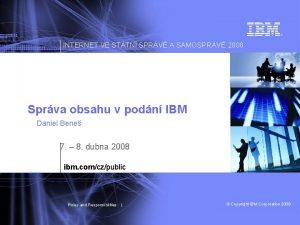 INTERNET VE STTN SPRV A SAMOSPRV 2008 Sprva