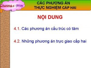 Chng 4 6 tit CC PHNG N THC