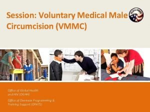 Session Voluntary Medical Male Circumcision VMMC Office of