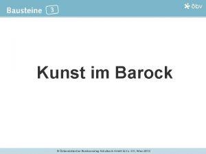 Kunst im Barock sterreichischer Bundesverlag Schulbuch Gmb H
