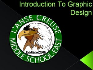 Introduction To Graphic Design Computer Graphic Design Objectives