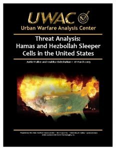 Threat Analysis Hamas and Hezbollah Sleeper Cells in