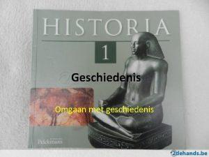 Geschiedenis Omgaan met geschiedenis Indeling van geschiedenis in