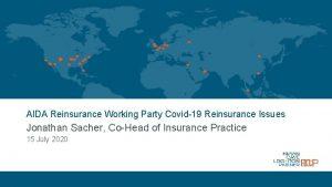 AIDA Reinsurance Working Party Covid19 Reinsurance Issues Jonathan