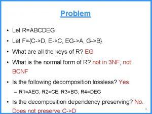 Problem Let RABCDEG Let FCD EC EGA GB