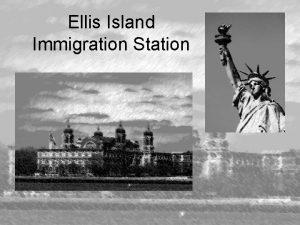 Ellis Island Immigration Station Immigration Station Ellis Island