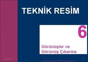 TEKNK RESM Grnler ve Grn karma 11262020 Akdeniz