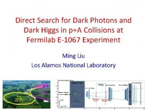 Direct Search for Dark Photons and Dark Higgs