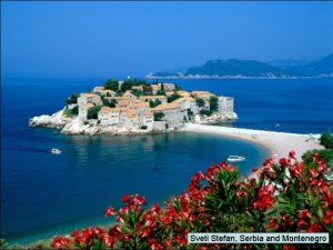 Sveti Stefan Serbia and Montenegro Swiss Countryside Tabacon