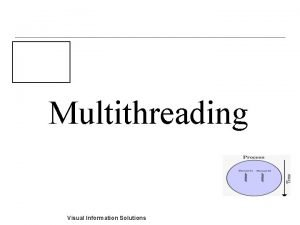Multithreading Visual Information Solutions Questce que le multithreading