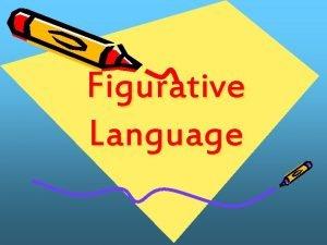 Figurative Language Literal vs Figurative Language Literal Language