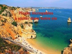 Plages incroyables visiter dans votre vie De plages