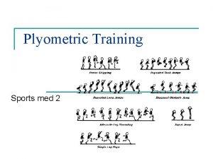 Plyometric Training Sports med 2 Intensity n Intensity