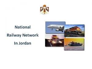 National Railway Network In Jordan Existing Railway Network