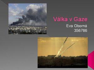 Vlka v Gaze Eva Oborn 356786 Kde U