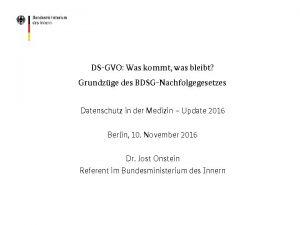DSGVO Was kommt was bleibt Grundzge des BDSGNachfolgegesetzes