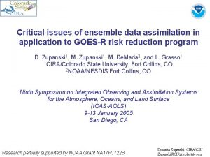 Critical issues of ensemble data assimilation in application