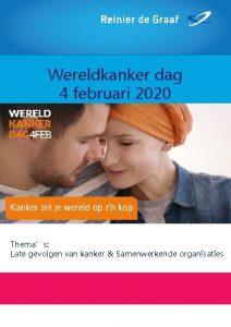 Wereldkanker dag 4 februari 2020 Themas Late gevolgen