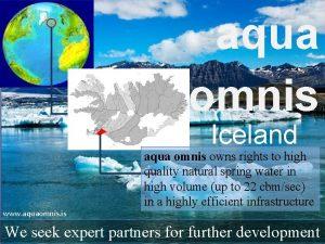 aqua omnis Iceland www aquaomnis is aqua omnis