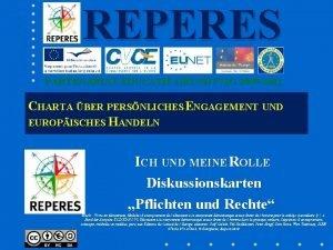 REPERES PARTENARIAT DUCATIF GRUNDTVIG 2009 2011 CHARTA BER