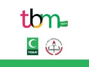 TBM Alan Bilgisi renme Alan Madde Bamll TRKYE