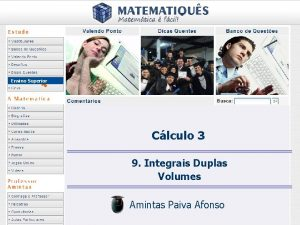 Ensino Superior Clculo 3 9 Integrais Duplas Volumes