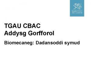 TGAU CBAC Addysg Gorfforol Biomecaneg Dadansoddi symud Cefndir