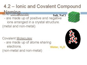 4 2 Ionic and Covalent Compound Naming Ionic