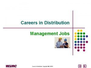 Careers in Distribution Management Jobs Careers in Distribution