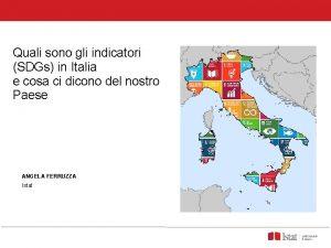 Quali sono gli indicatori SDGs in Italia e