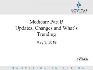 Medicare Part B Updates Changes and Whats Trending