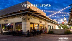 Vista Real Estate La Centerra Overview Vista Terre