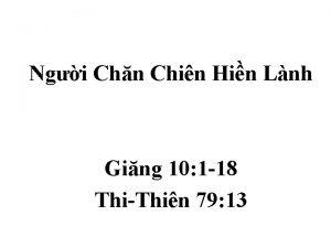 Ngi Chn Chin Hin Lnh Ging 10 1