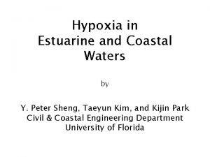 Hypoxia in Estuarine and Coastal Waters by Y